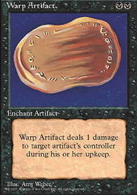 Warp Artifact - 4th Edition
