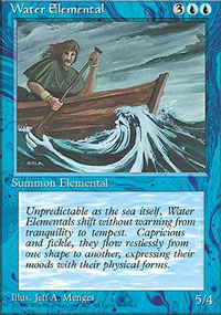 Water Elemental - 4th Edition