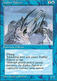 Zephyr Falcon - 4th Edition
