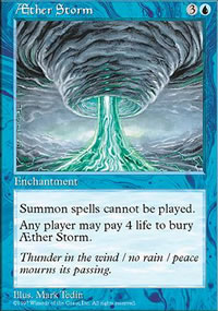 Aether Storm - Fifth Edition