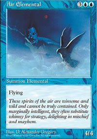 Air Elemental - Fifth Edition