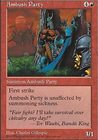 Ambush Party - Fifth Edition