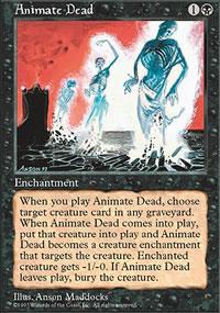 Animate Dead - 5th Edition
