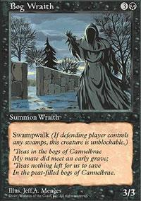 Bog Wraith - 5th Edition