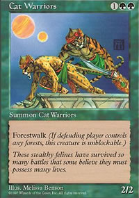 Cat Warriors - Fifth Edition