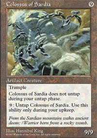 Colossus of Sardia - Fifth Edition