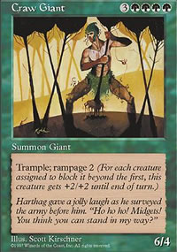 Craw Giant - Fifth Edition