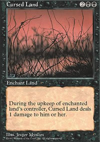Cursed Land - Fifth Edition