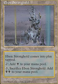 Ebon Stronghold - Fifth Edition