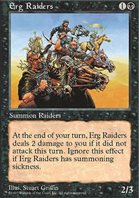 Erg Raiders - 5th Edition
