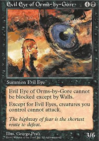 Evil Eye of Orms-by-Gore - Fifth Edition