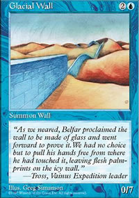Glacial Wall - Fifth Edition