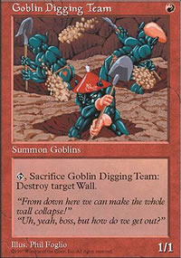 Goblin Digging Team - Fifth Edition