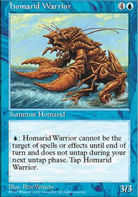 Homarid Warrior - Fifth Edition