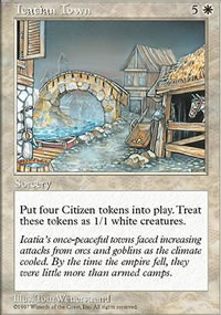 Icatian Town - Fifth Edition