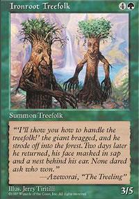Ironroot Treefolk - 5th Edition