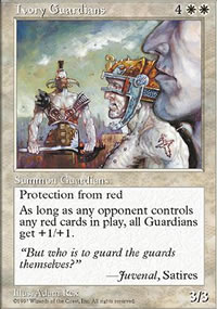 Ivory Guardians - Fifth Edition