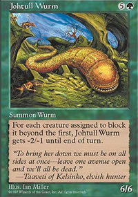 Johtull Wurm - Fifth Edition