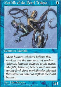 Merfolk of the Pearl Trident - Fifth Edition