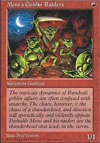 Mons's Goblin Raiders - Fifth Edition