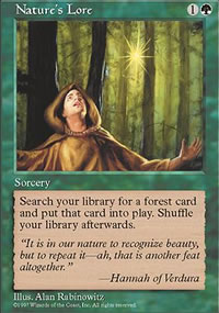 Nature's Lore - 5th Edition
