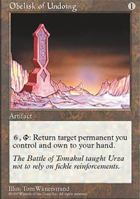 Obelisk of Undoing - Fifth Edition