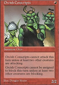 Orcish Conscripts - Fifth Edition