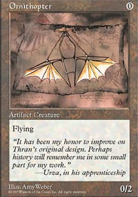 Ornithopter - Fifth Edition