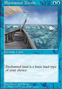 Phantasmal Terrain - Fifth Edition