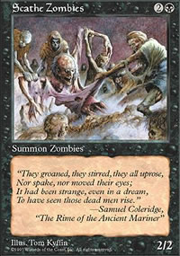 Scathe Zombies - 5th Edition