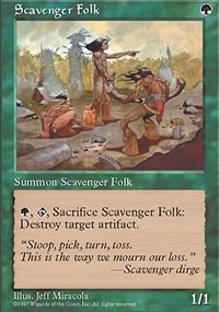 Scavenger Folk - Fifth Edition