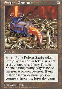 Serpent Generator - Fifth Edition