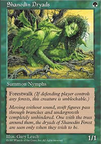 Shanodin Dryads - Fifth Edition