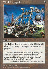 Skull Catapult - Fifth Edition