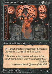 Sorceress Queen - Fifth Edition