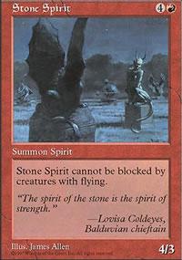 Stone Spirit - 5th Edition