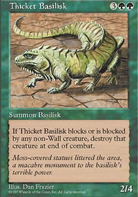 Thicket Basilisk - Fifth Edition