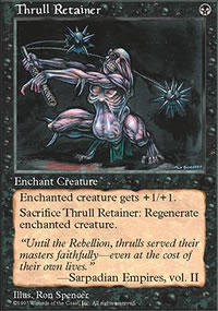 Thrull Retainer - Fifth Edition