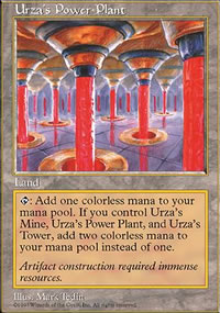 Urza's Power Plant - Fifth Edition