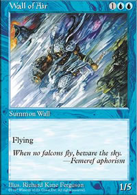 Wall of Air - 5th Edition