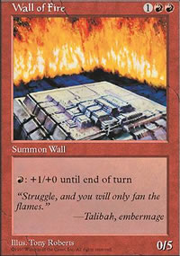 Wall of Fire - 5th Edition