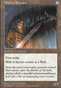 Wall of Spears - 5th Edition