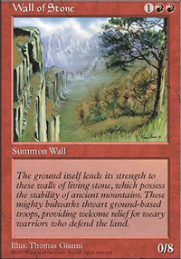 Wall of Stone - Fifth Edition