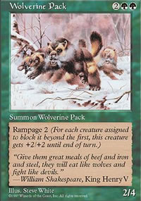 Wolverine Pack - Fifth Edition