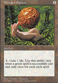 Wooden Sphere - 5th Edition