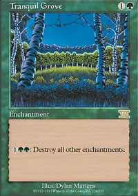 Tranquil Grove - 6th Edition