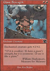 Giant Strength - 6th Edition