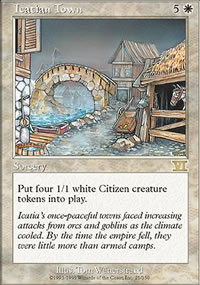 Icatian Town - 6th Edition