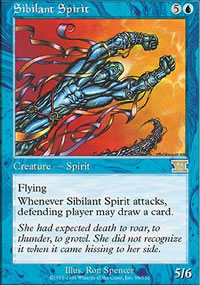 Sibilant Spirit - 6th Edition