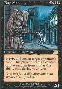 Rag Man - 6th Edition